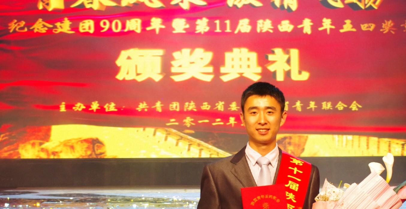 我校学生李明勇入围 2012中国大学生年度人物 候选人